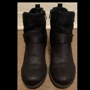 Women's Black Booties Size 7
